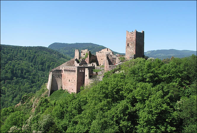 Château Saint Ulrich à Ribeauvillé