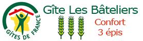 label 3 épis les bateliers Gîte de France