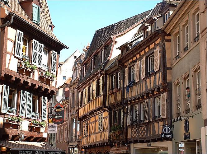 rue des boulangers à Colmar