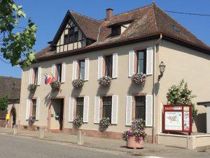 Mairie d'Illhaeusern en 2019